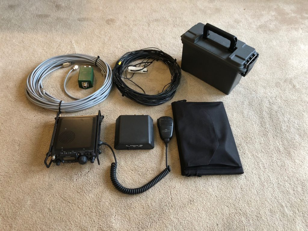 portable off grid ham radio